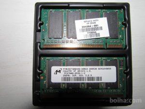 Pomnilnik za prenosnik RAM 2x256MB